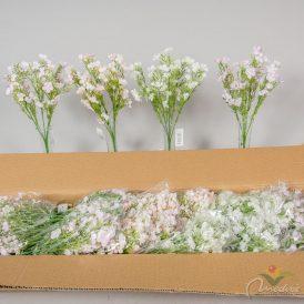 Apró virágos csokor 5 ágú 48db/karton Egész/fél kartonra rendelhető!