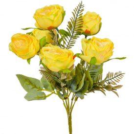 Rózsa csokor 6v. M31cm 24db/#