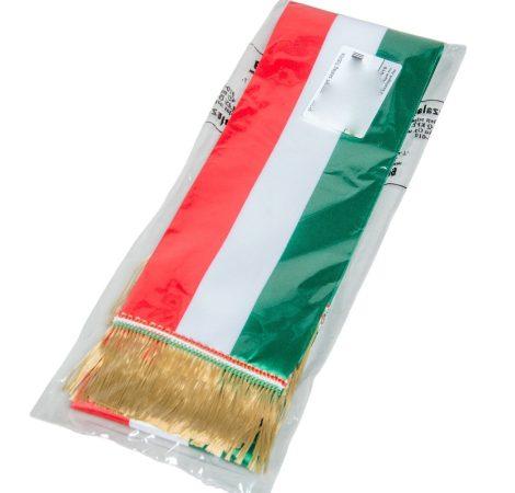 Nemzeti szinű szalag 9cm 5db/csom Egész csomagra rendelhető!