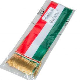 Nemzeti színű szalag 7cm 5db/csom (db ár)