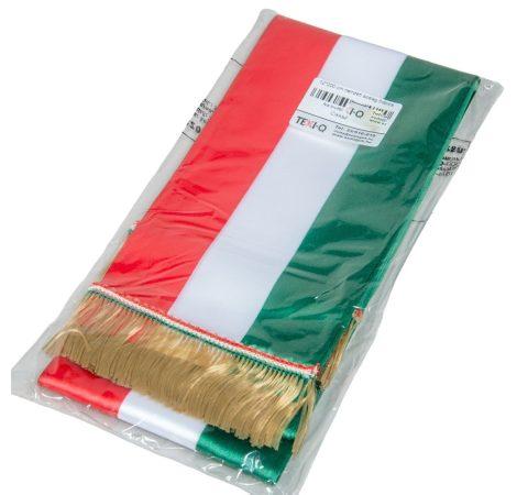 Nemzeti színű szalag 12cm 5db/csom Csak egész csomagra rendelhető!
