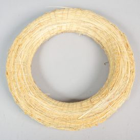 Cirokkal tekert széna alap 25 cm