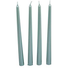 Metál sziluett gyertya 310 mm jégkék 4db/csom (db ár)