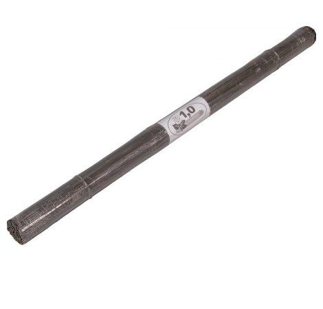 Drót vágott fekete 1mm 51cm 2kg