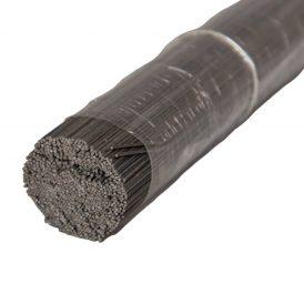 Drót vágott fekete 0,8mm 51cm 2 kg