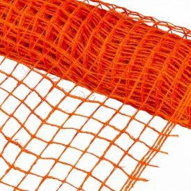 Hálós anyag narancs 8cmx5m