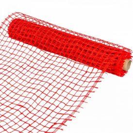 Hálós anyag piros 8cmx5m