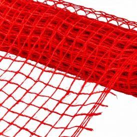 Hálós anyag piros 48cmx5m