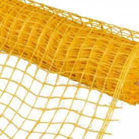 Hálós anyag sárga 8cmx5m