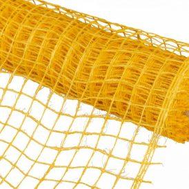 Hálós anyag sárga 48cmx5m