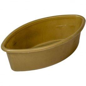 Műanyag  közepes hajó arany M6,5 x 23cm