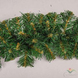 Karácsonyi dekor girland  260ág 12cm-es  275cm