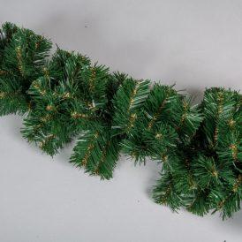 Karácsonyi dekor ajtóív girland 70ág 130cm