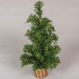 Karácsonyfa dekor fatalppal  M35cm