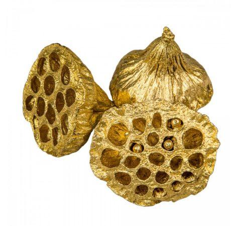 Lótusz 4-5cm arany 15db-os