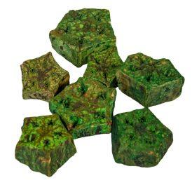 Mehogany szelet szárított zöld 25dkg/csom