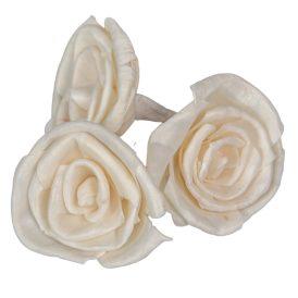 Ming rózsa fej 6cm 25db-os