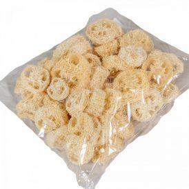 Luffa szeletelt szárított fehérített 4dkg-os