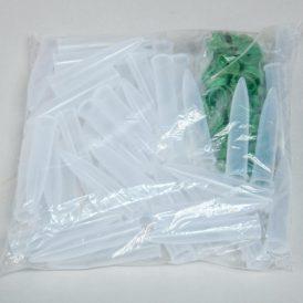 Műanyag fiola 7cm tejfehér 50db/csom (db ár)
