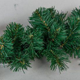 Karácsonyi dekor girland 140cm 12cm ággal