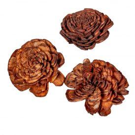 Ming boglárka barna 4cm 50db-os