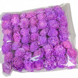 Ming boglárka világos lila 4cm 50db-os