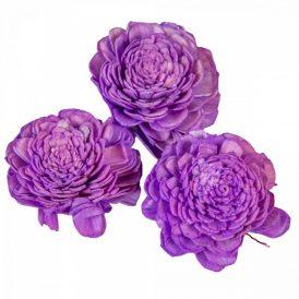 Ming boglárka világos lila 6cm 25db-os