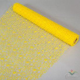 Hálós csomagoló sárga  50cmx5y