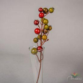 Karácsonyi bogyós pick (db ár) 12db/csom/szín Egész csomagra rendelhető!