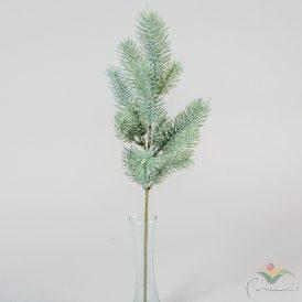 Karácsonyi havas fenyőág 50cm