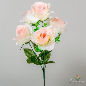 Rózsa csokor 5v. M35cm 24db/#