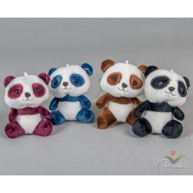 Plüss panda maci 10cm