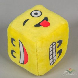 Plüss emoji kocka 8cm