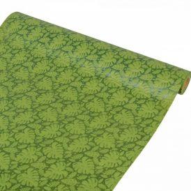 3D mintás vetex tekercs  zöld 48cm x 5y