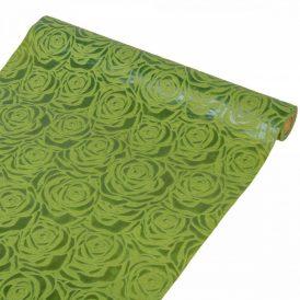 3D mintás vetex tekercs 48cm x 5y zöld