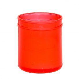 Mécsesbetét kicsi piros 40g 5,4cm 5db/#