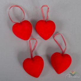 Akasztós szív 5cm 4db-os