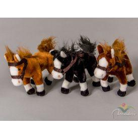 Plüss ló  szín16cm