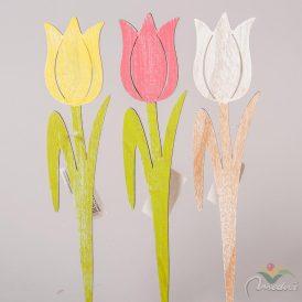 Fa tulipán festettt 30cm