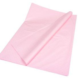 Csomagoló fólia baba rózsaszín pöttyös 70x100cm 10db-os