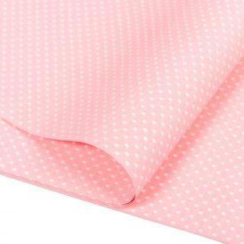 Csomagoló fólia közép rózsaszín pöttyös 70x100cm 10db-os