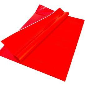 Csomagoló fólia piros bordó pöttyös 70x100cm 10db-os
